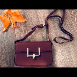 Forever 21 Small Burgundy Crossbody Bag (unused)